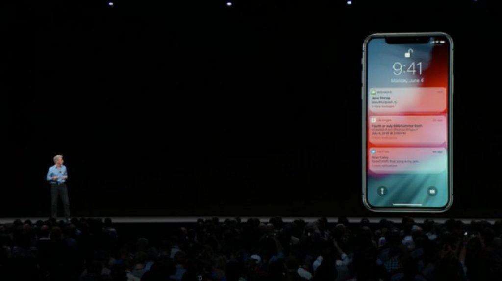Обновление iOS 12 - Сгруппированные уведомления