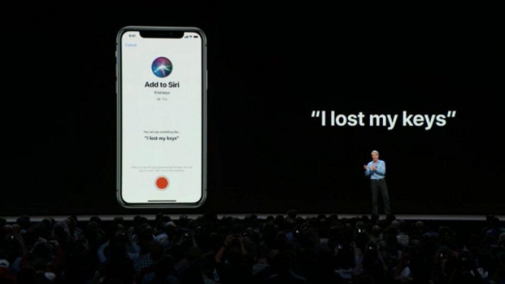 Обновление iOS 12 - Ярлыки Siri