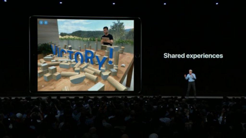 Обновление iOS 12 - ARKit 2