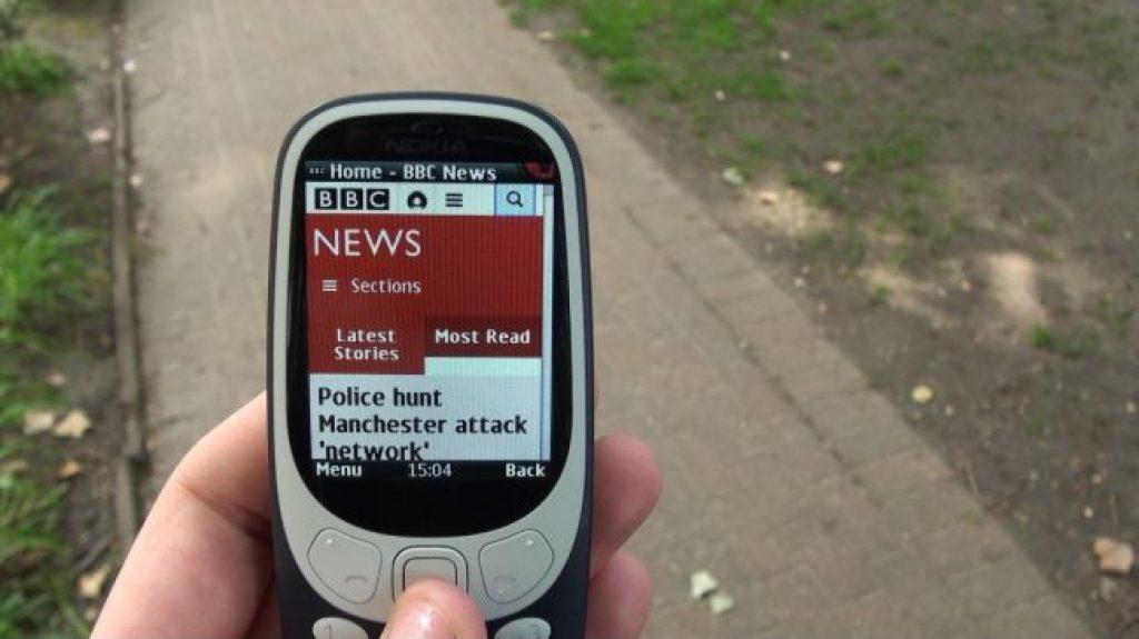 Телефоны для детей - Nokia 3310 3G
