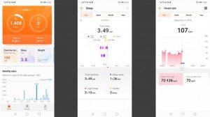 Приложение Huawei Health
