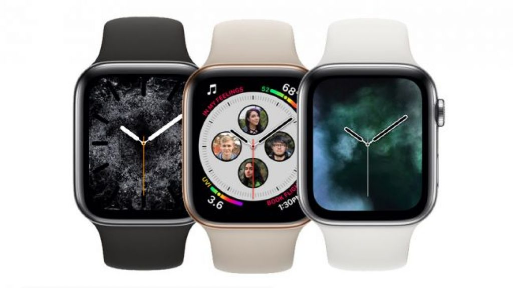 Сравнение Apple Watch 4