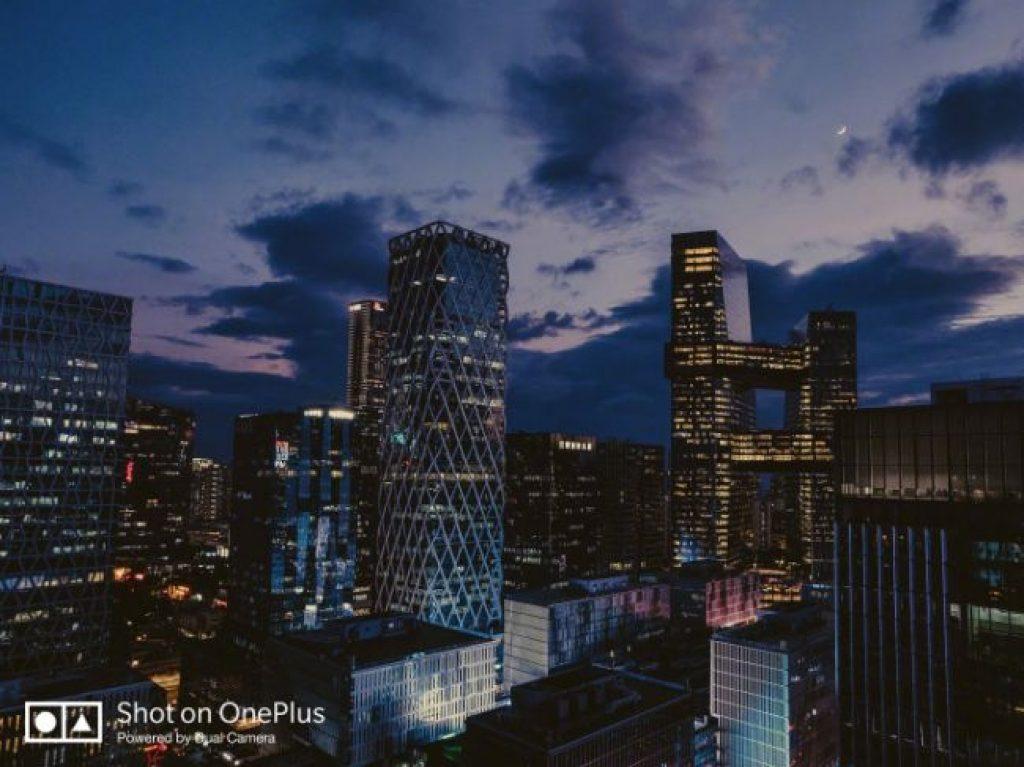 Ночная фотография OnePlus 6T