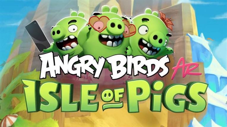 Angry Birds AR - Isle of Pigs