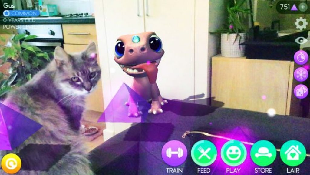 AR Dragon на iPod Touch 7