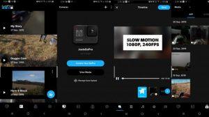 Приложение GoPro Hero 8 Black