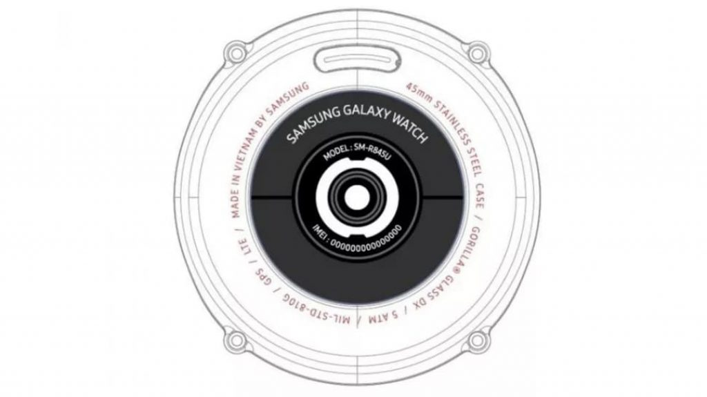 Регистрация FCC для Galaxy Watch 2