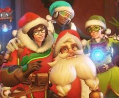 Overwatch: Новогодние скины, эмоции и позы