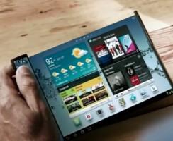 Samsung поставит складные телефоны на рынок в 2017 году
