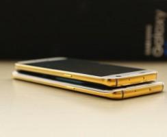 Позолоченный Samsung Galaxy S7 Edge — 1930$