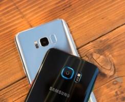Samsung Galaxy S8 использует два разных датчика камеры