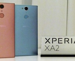 Предварительный обзор Sony Xperia XA2