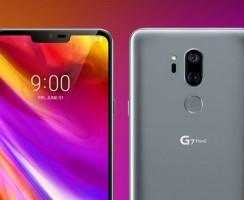 LG G7 ThinQ: Новые фотографии телефона со всех углов!