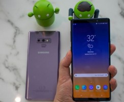 Сравнение Samsung Galaxy Note 9 против iPhone X