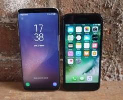 Samsung Galaxy S8 VS iPhone 7: Битва титанов