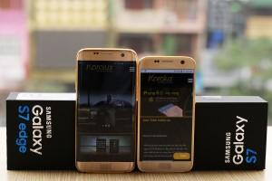 Золотой Samsung Galaxy S7 от Karalux