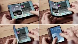 Складной телефон Samsung