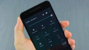 Быстрые настройки в Android Nougat