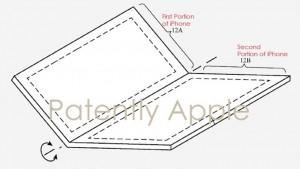Патент раскладного iPhone