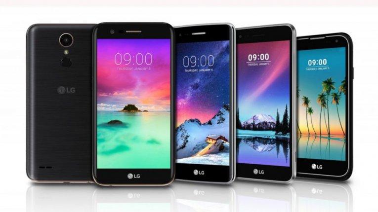 Пять новых телефонов LG