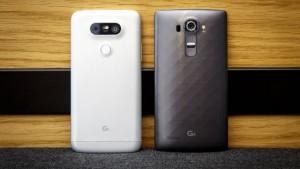 Телефоны LG G5 и LG G4