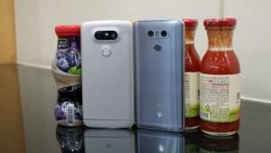 LG G6 бок о бок с LG G5