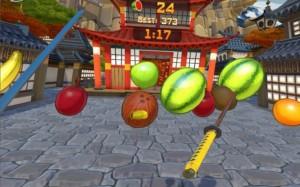 Oculus Touch и Fruit Ninja VR