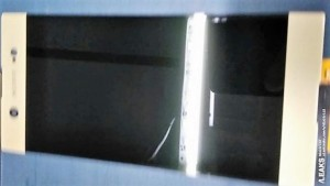 Дисплей нового Xperia XZ