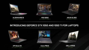 Ноутбуки с NVIDIA GeForce GTX 1050