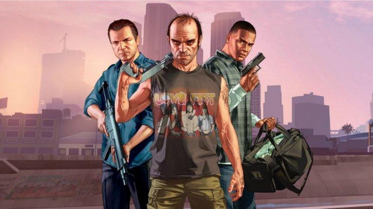 GTA V. Герои Grand Theft Auto 5