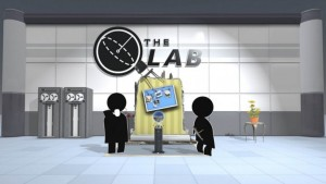 The Lab на HTC Vive
