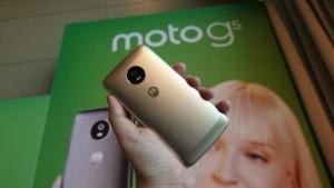 Бюджетный смартфон Moto G5