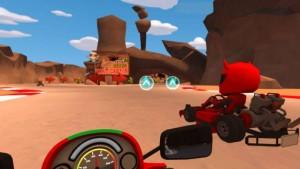 Игра VR Karts. Sprint