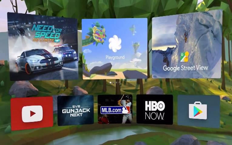 Игры и приложения Daydream VR