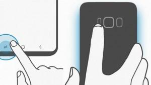 Кнопки Samsung Galaxy S8