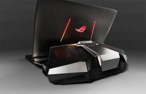 Ноутбук ASUS с доком на GTX 980