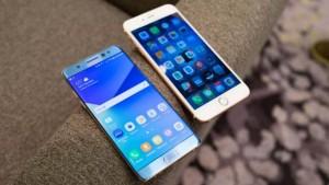 iPhone 7 против Galaxy Note 7