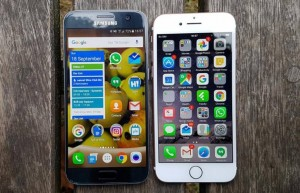 iPhone 7 против Galaxy S7