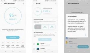 Интерфейс Samsung Galaxy S8