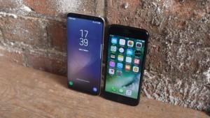 Сравнение Galaxy S8 и iPhone 7