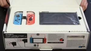 Распаковка Nintendo Switch