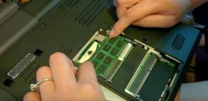 Установка оперативной памяти ноутбука