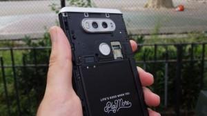 LG V20 - Съемная задняя панель