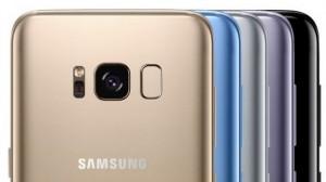 Samsung Galaxy S8 - Цвета