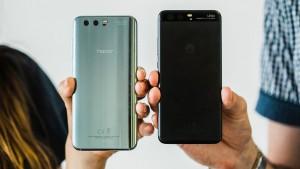 Сравнение Honor 9 и Huawei P10
