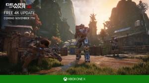 Gears of War 4 - Xbox One X