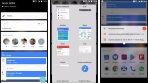 OnePlus 5 - Виджеты Shelf