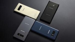 Цвета Samsung Galaxy Note 8