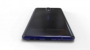 Смартфон Nokia 9 (Рендер CAD)