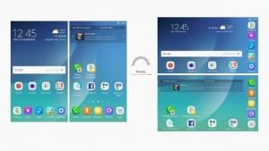 Интерфейс Samsung Galaxy X